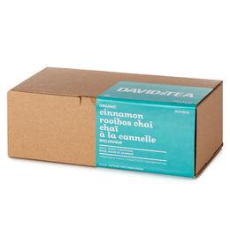 Boîtes de 25sachets Chaï à la cannelle biologique