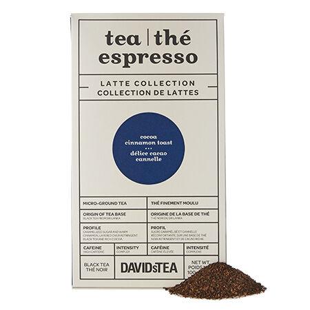 Cocoa Cinnamon Toast Tea Espresso