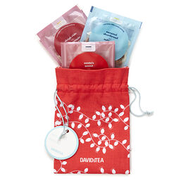 Holiday Drawstring Pouch