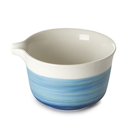 Indigo Artisanal Matcha Bowl with Spout