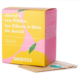 Lemon David's Tea Filters Pack of 200