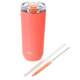 Favourite Tumbler Crackled Coral
