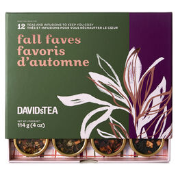 Fall Faves 12 Tea Sampler