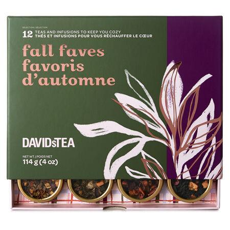 Fall Faves 12 Tea Sampler