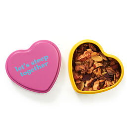 Forever Nuts Heart Shaped Tin