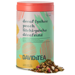 Decaf Lychee Peach – Limited Edition printed tin