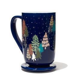 Colour Changing Nordic Mug Winter Wonderland Navy