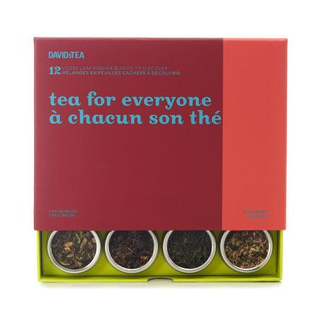 Coffret dégustation de 12 thés À chacun son thé