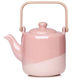 Tomi Teapot Matte Glossy Blush