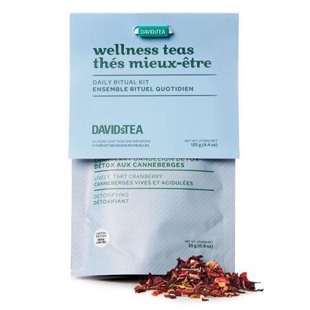 Daily ritual tea discovery sampler