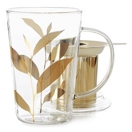 Perfect Mug Glass Tea Leaf