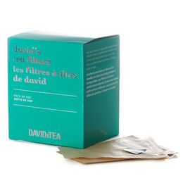 David's Tea Filters Pack of 200
