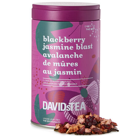 Blackberry Jasmine Blast – Limited Edition printed tin