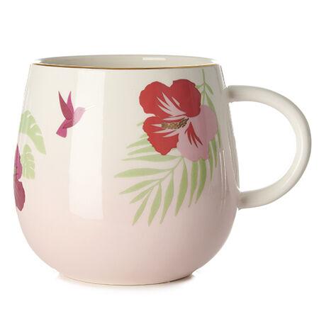 Hibiscus Raindrop Mug