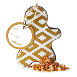 Gingerbread Blondie Ornament Tin