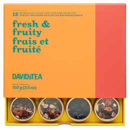 Fresh & Fruity 12 Tea Sampler