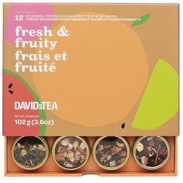 Fresh & Fruity 12 Tea Sampler