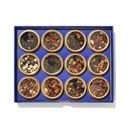 Coffret dégustation de 12 thés Les thés des fêtes de David