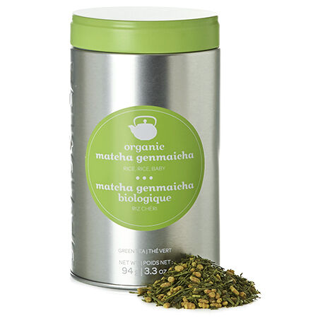 Organic Matcha Genmaicha Perfect Tin