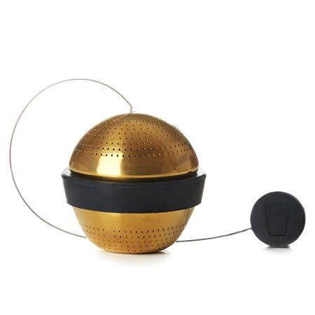 Gold & Black Perfect Mesh Ball