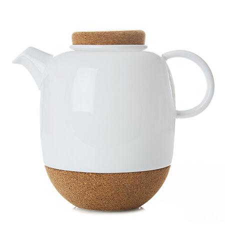 Viva Lauren Large White Teapot