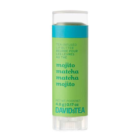 Beurre pour les lèvres au thé Matcha mojito