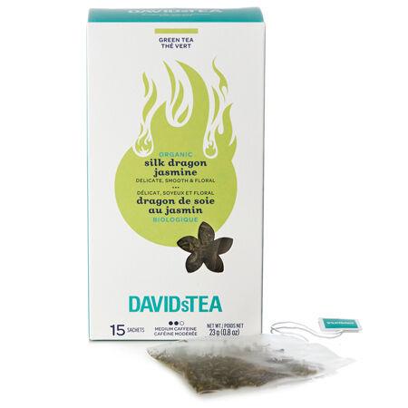 Sachets Dragon de soie au jasmin biologique