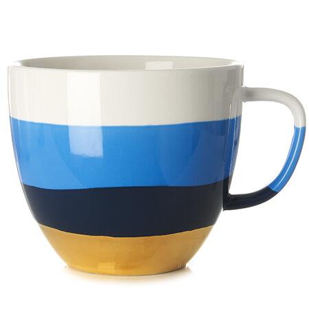 Tasse à latte à motif de vagues