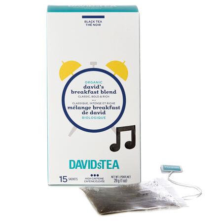 Sachets Mélange Breakfast de David biologique