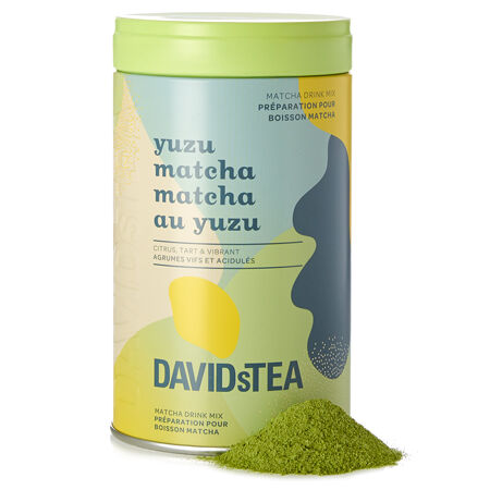 Yuzu Matcha – Limited Edition printed tin