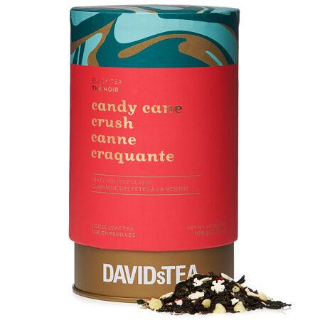 Candy Cane Crush Large Tea Tin