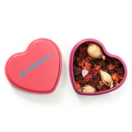 Sweet Tart Heart Shaped Tin