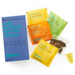 Boîte de 20 sachets de thés assortis - Bye bye rhume