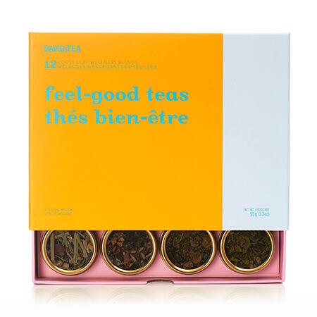 Feel Good Teas 12 Tea Sampler