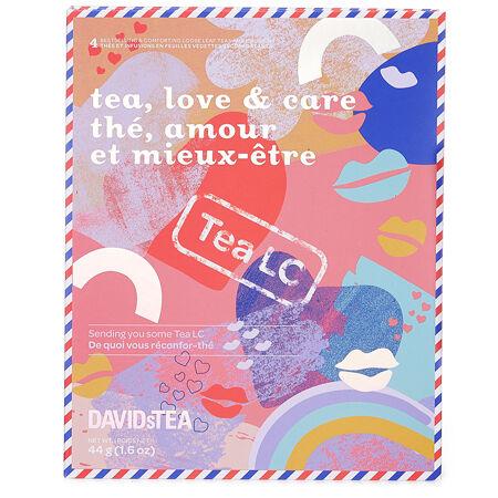 Coffret Thé, amour et mieux-être