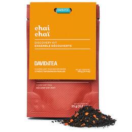 Ensemble découverte thés Chaï