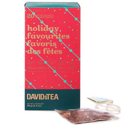 Holiday Favourites tea sachet variety pack of 20