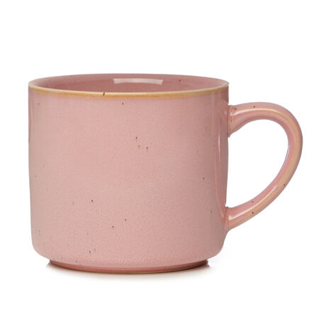 Pink Rustic Matcha Cup