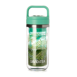 Mini Matcha Maker Tritan Leaves Green