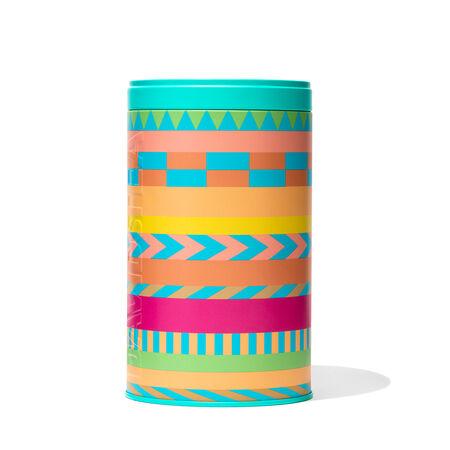 Striped Large Printed Tin