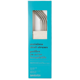 Reusable SS straw & brush set