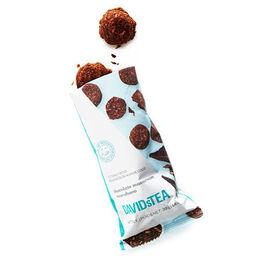 Coconut Bites with Chocolate Macaroon