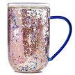Moon & Stars Confetti Glass Nordic Mug