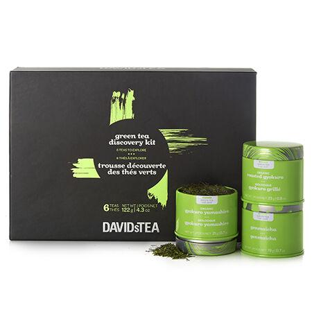 Trousse découverte des thés verts