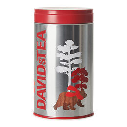 Seasonal Tea Tin 100g Wood Bear