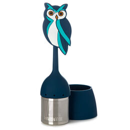 Infuser With Saucer Owl