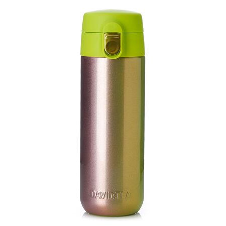 Lime Pink Lock Top Travel Mug