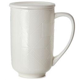 Nordic Mug Mosaic Textured White