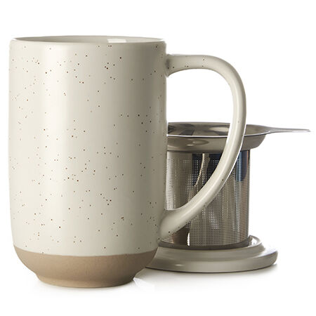 White Speckled Nordic Mug