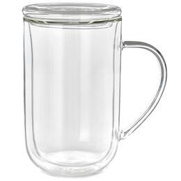 Double Walled Glass Nordic Mug